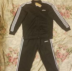 NWT Adidas 3-Stripes Track Suit